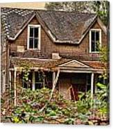 Old Abandon House Canvas Print