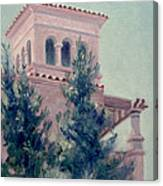 Old Bell Tower Canvas Print