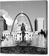 Old Courthouse Saint Louis Mo Canvas Print