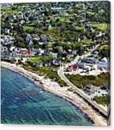 Old Harbor Village Canvas Print