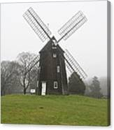 Old Hook Mill Canvas Print