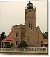 Old Mackinac Point Lighthouse Canvas Print