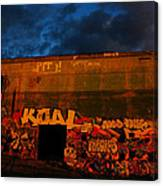 Old Military Base Canvas Print