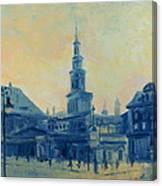 Old Poznan Canvas Print
