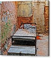 Old Prison Cell Canvas Print