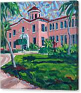 Old School at Delray Canvas Print