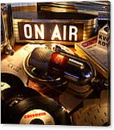 Old School Radio Canvas Print