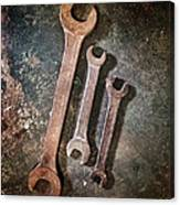 Old Spanners Canvas Print
