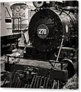 Old Steam Lock  Canvas Print