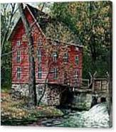 Old Time Mill Canvas Print