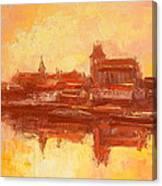 Old Torun Canvas Print