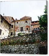 Old Towns Of Tuscany San Gimignano Italy Canvas Print