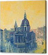 Old Warsaw  Canvas Print