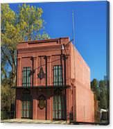Oldest Masonic Lodge In California Canvas Print