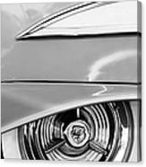 Oldsmobile 98 Wheel Emblem Canvas Print