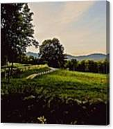 From Cleveland Hill Rd. At Dusk Canvas Print