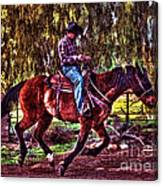 On The Ranch Canvas Print