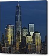 One World Trade Center At Twilight Canvas Print