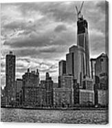 One World Trade Center Bw Canvas Print