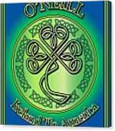 O'neill Ireland To America Canvas Print