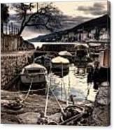 Opatija Port Canvas Print