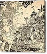 Open Sesame Canvas Print