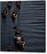 Oporto By River Canvas Print