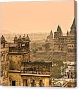 Orchha's Palace - India Canvas Print