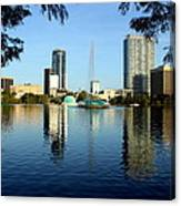 Orlando Fl Skyline Canvas Print