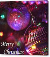 Ornaments-2160-merrychristmas Canvas Print