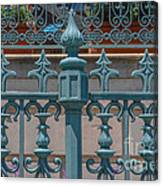 Ornate Fence Canvas Print