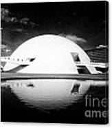Oscar Niemeyer Architecture- Brazil Canvas Print