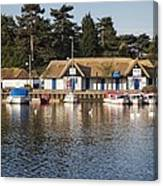 Oulton Broad Canvas Print
