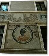 Painted Wall Canvas Print