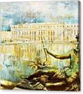 Palace And Park Of Versailles Canvas Print