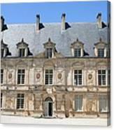 Palace Bussy Rabutin - Burgundy Canvas Print