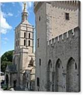 Palace Of The Pope - Avignon Canvas Print