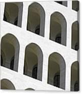 Palazzo Della Civilta' Romana Canvas Print