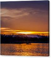 Palisade Sunset Canvas Print