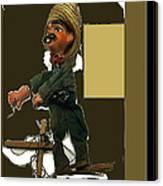 Pancho Villa Puppet Canvas Print
