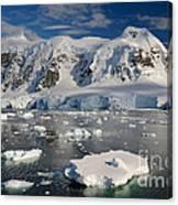 Paradise Bay, Antarctica Canvas Print