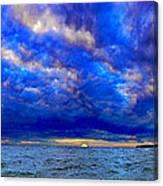Paradise Is Blue Canvas Print
