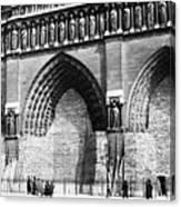 Paris Notre Dame, 1918 Canvas Print