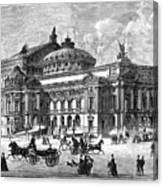 Paris Opera House, 1875 Canvas Print