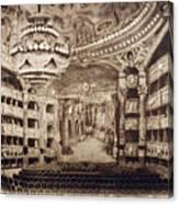 Paris Opera House Canvas Print