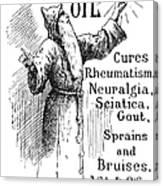 Patent Medicine, 1894 Canvas Print