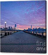 Path To Manhattan Canvas Print