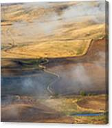 Patterns Of The Land Canvas Print