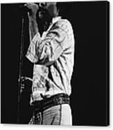 Paul Singing In Spokane 1977 Canvas Print