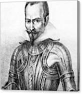 Pedro De Alvarado (1495?-1541) Canvas Print